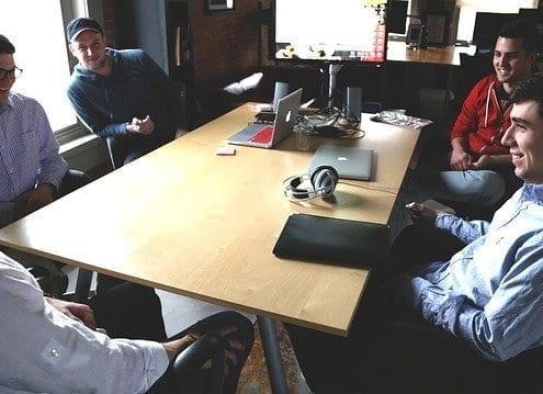 reunião empreendedores