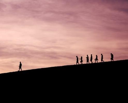 processo de seleção de líderes
